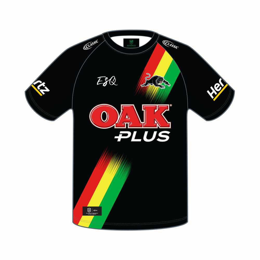 5e4dcc87bb3 ADULT WARM UP TEE – Panthers – 2019 Merchandise